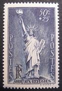 Lot 1424 - 1937 - AIDE AUX REFUGIES - N°352 NEUF** - Unused Stamps