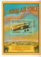 Gambia 1993 MNH Scott #1386 Souvenir Sheet 20d Avro 504K Airplane 75th Anniv RAF - Gambie (1965-...)