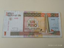 1 Peso 1994 - Cuba