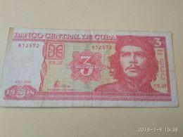 3 Pesos 2004 - Cuba