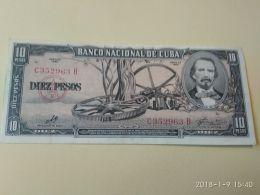 10 Pesos 1960 - Cuba