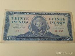 20 Pesos 1964 - Cuba