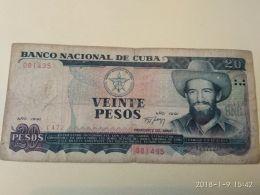 20 Pesos 1991 - Cuba