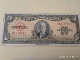 50pesos 1958 - Cuba