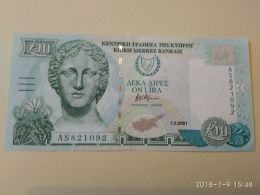 10 On Lira 2001 - Cipro