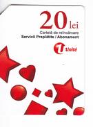 Moldova ,  Moldavie , Moldau ,  Prepaid Phonecard -  Unlte  ,  20 Lei , Tipe 3 , Paper , Used - Moldova