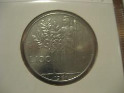 100 Liras 1967 ITALY Italie Italia Coin - 1946-… : República