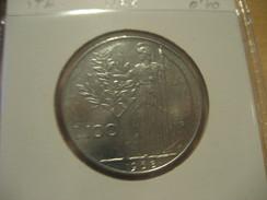 100 Liras 1968 ITALY Italie Italia Coin - 1946-… : República