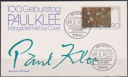 BRD FDC 1979 Nr.1029 100.Geb. Paul Klee ( D 5719 )  Günstige Versandkosten - [7] République Fédérale