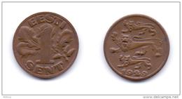 Estonia 1 Sent 1929 - Estonia