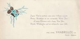 Opwijk ,prettige Kerstdagen En Een Voorspoedig Nieuw Jaar, Anc.Etabl. VANBREUZE - Opwijk