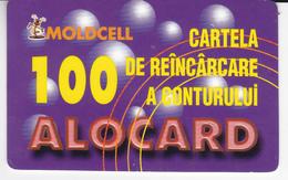 Moldova , Moldavie  Moldau , Old Prepaid Phonecards - Moldcell , 2002 , 100 Units ,  Paper , Used - Moldova