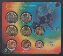 SPAIN  EURO SET 2003 BU - Espagne