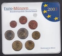 GERMANY  EURO SET 2003 BU - Germany