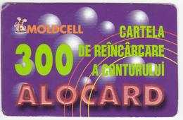 Moldova , Moldavie , Moldau , Old Prepaid Phonecards - Moldcell , 2002 , 300 Units ,  Paper , Used - Moldova