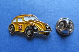 Pin's, PTT, La Poste Suisse, Automobile, Voiture, VW Käfer, Coccinelle - Volkswagen