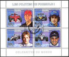 {CN03} Congo 2006 Pilots Of Formula - 1 Sheet Used / CTO - Gebraucht