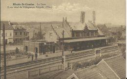 RHODE ST GENESE - LA GARE - Gares - Sans Trains
