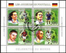 {CN04} Congo 2006 Football Soccer Sheet Used / CTO - República Democrática Del Congo (1997 - ...)