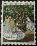 1703 France 1972 Oblitéré  Femmes Au Jardin De Monet - Gebraucht
