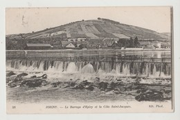 CPA JOIGNY Le Barrage D' Epizy Et La Côte Saint-Jacques - Joigny