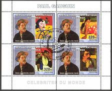 {CN06} Congo 2006 Art Paintings Paul Gauguin Sheet Used / CTO - Gebraucht