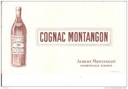 BUVARD COGNAC MONTANGON - Liquor & Beer