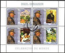 {CN08} Congo 2006 Art Paintings Paul Sezanne Sheet Used / CTO - Gebraucht