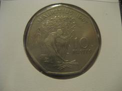 10 Rupees 1997 MAURITIUS Maurice Coin - Mauritius