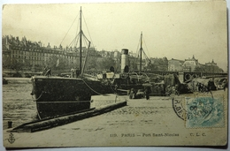 PORT SAINT NICOLAS - PARIS - Die Seine Und Ihre Ufer