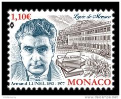 Monaco 2017 Mih. 3368 Writer Armand Lunel MNH ** - Monaco