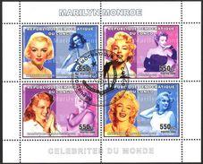 {CN12} Congo 2006 Marilyn Monroe Sheet Used / CTO - República Democrática Del Congo (1997 - ...)