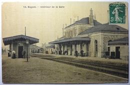 INTÉRIEUR DE LA GARE - NOGENT LE ROTROU - Nogent Le Rotrou
