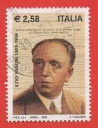 2003 (2696) Ezio Vanoni  - Leggi Messaggio Del Venditore - 6. 1946-.. Repubblica