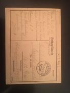 FELDPOSTKARTE-30-10-1942-BAD GLEICHEMBERG - Germany