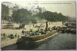 LA SEINE AU PORT SAINT NICOLAS - PARIS - Die Seine Und Ihre Ufer