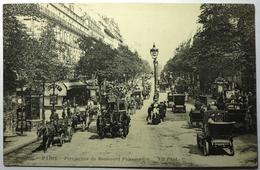 PERSPECTIVE DU BOULEVARD POISSONNIÈRE - PARIS - Die Seine Und Ihre Ufer