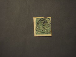 JHIND - 1874  SCRITTE 4 A.  - TIMBRATO/USED - Jhind