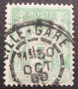 Lot GD2/152 - SAGE Type II N°106 - CàD : LILLE-GARE 30 OCT 1898 - 1876-1898 Sage (Type II)