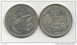 PORTUGAL- 200 ESCUDOS-KM#683-1995-1515 SOLOR & TIMOR ISLANDS-UNC-COPPER-NICKEL - Portugal