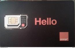 GSM SIM Card Orange (Hello) Egypt 4G (Egypte) (Egitto) (Ägypten) (Egipto) (Egypten) - Egypt