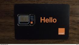 MINT GSM SIM Card Orange (Hello) Egypt (Egypte) (Egitto) (Ägypten) (Egipto) (Egypten) - Egypte