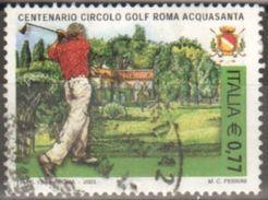 2003 Italia 2717 Circolo Golf Acquasanta Usato - 6. 1946-.. Repubblica