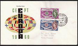 Great Britain 1960 / Europa CEPT / FDC - 1960