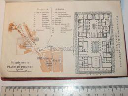 Piano Di Pompei Italy Map Mappa Karte 1908 - Maps