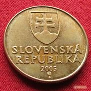 Slovakia 1 Koruna 2005 KM# 12 Eslovaquia Slovaquie - Slovaquie