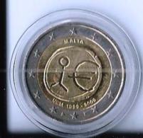 2 EURO COMMEMORATIVE EMU 2009 - ETAT IMPECCABLE - UNC - Malte