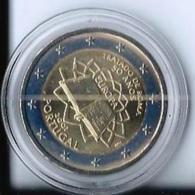 2 EURO COMMEMORATIVE TRAITE DE ROME 2007 - ETAT IMPECCABLE - UNC - Portugal