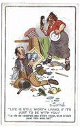 La Vie Ne Vaudrait Pas D'être Vécue.. - Illustrateur Donald MC GILL - 2327 - Mc Gill, Donald