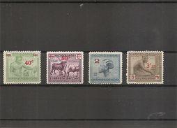 Congo Belge ( 159/161A X -MH) - 1923-44: Ungebraucht